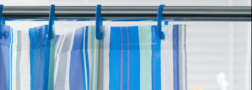 Cómo limpiar la cortina de baño